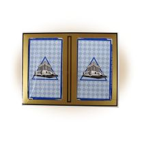 House of the Temple Playing Cards (Double Deck)