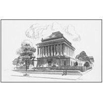 House Of The Temple Line Drawing