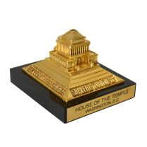 Miniature Temple Paperweight