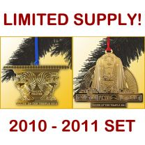 2nd & 3rd Annual House of the Temple Christmas Tree Ornament COMBO SET