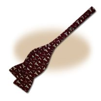 Grand Commander Series III Bow Tie - Burgundy