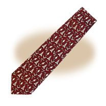 Grand Commander Series III Neck Tie - Burgundy